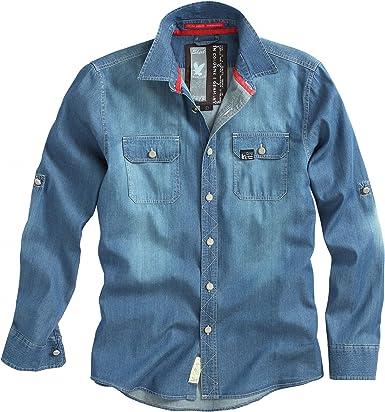 Surplus Raw Vaqueros Vintage Camiseta Azul Oscuro