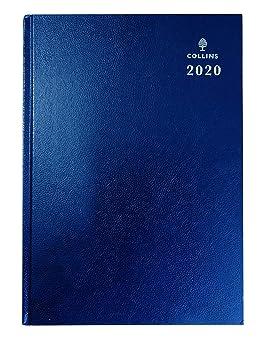 Collins Desk 2020 - Agenda (A4, vista semanal), color azul ...