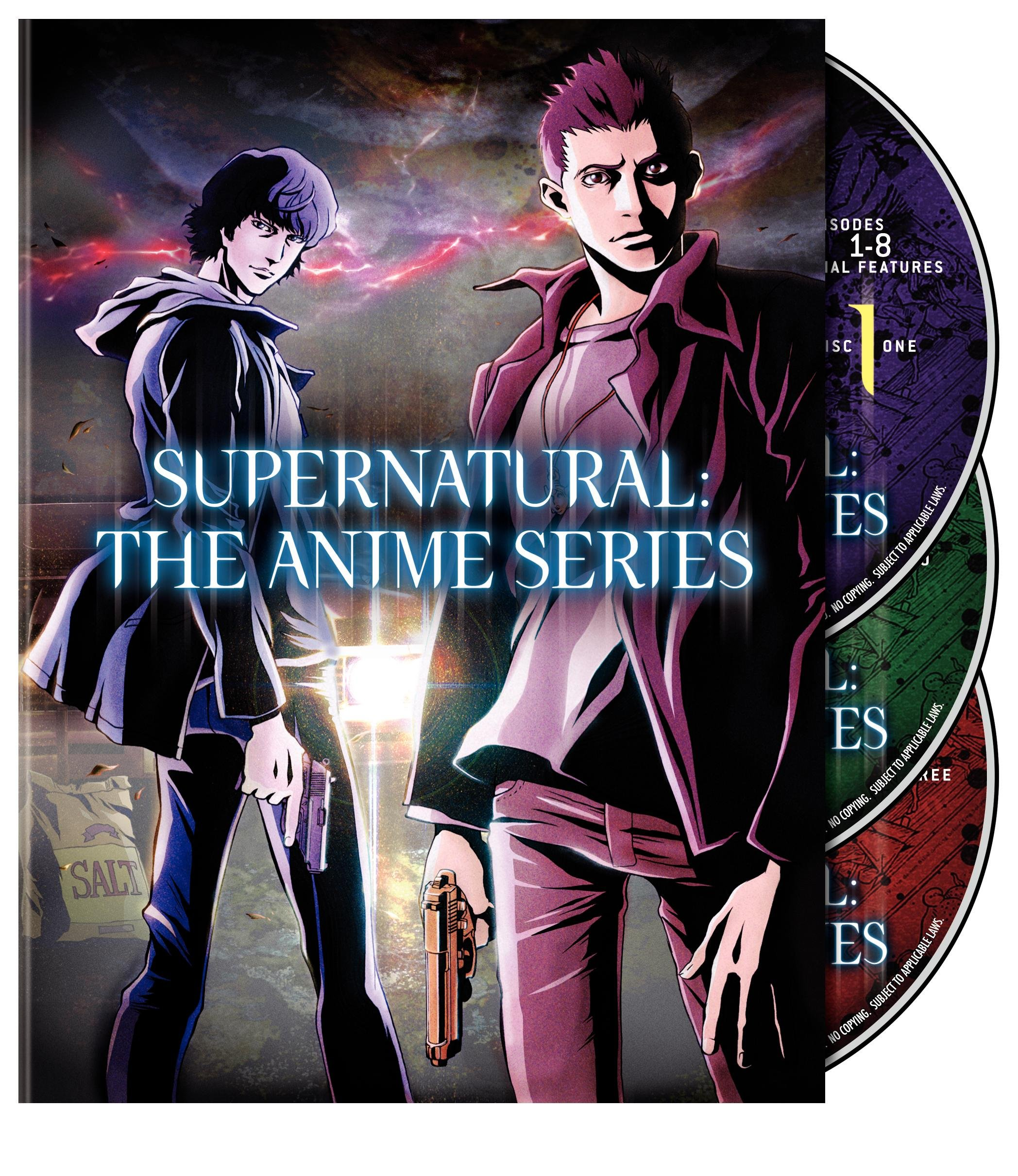 Supernatural: The Animation Series: The Complete Series 4
