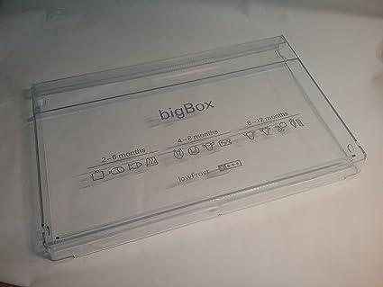 Bosch Siemens Apertura 743287 de la Big Box para frigorífico Z. B. KI86SKD41/01
