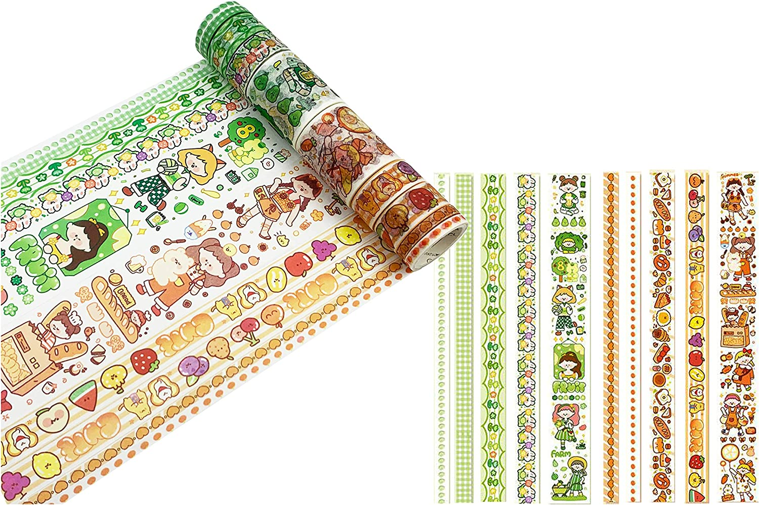 HIYOU-Home Japanese Practical Wood Grain Washi Tape for Arts and DIY Crafts, Scrapbooking, Bullet Journal, Planner, Gift Wrapping, Holiday Decoration (Merry Christmas)