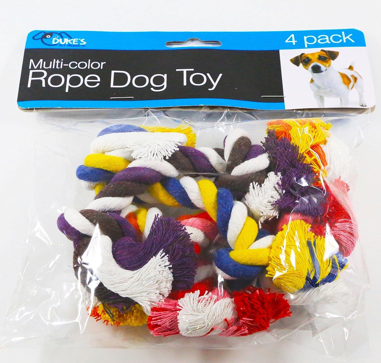 Q11 Multi-color Rope Dog Toy Set