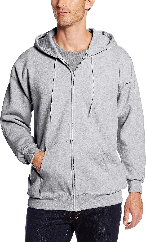 Hanes Men's Full Zip Ultimate Heavyweight Fleece Hoodie