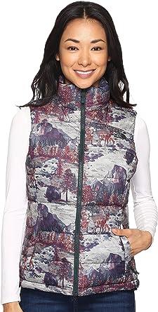 d5dc6929d9 The North Face Women s Nuptse 2 Vest TNF Black Yosemite Print (Prior  Season) Medium