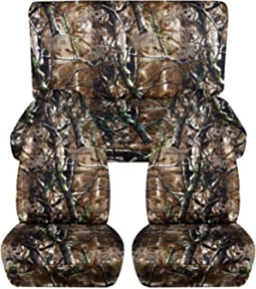 Camouflage Car Seat Covers Woods Camo