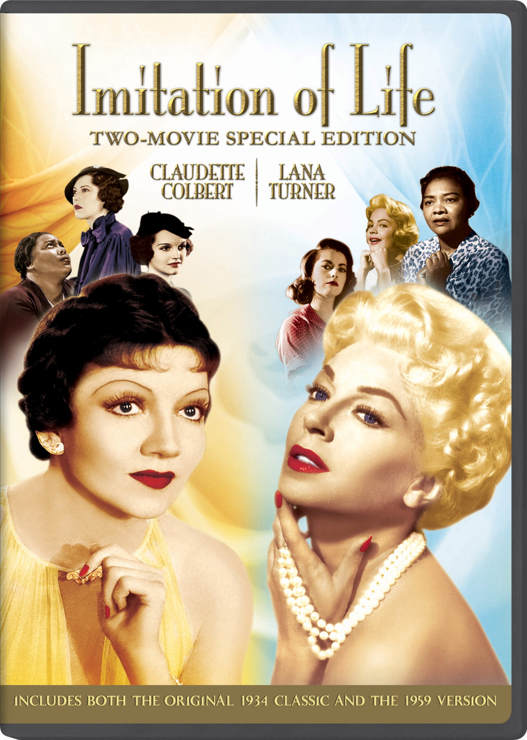 DVD : Imitation of Life (Special Edition, Digital Copy, Slipsleeve Packaging, 2 Disc)
