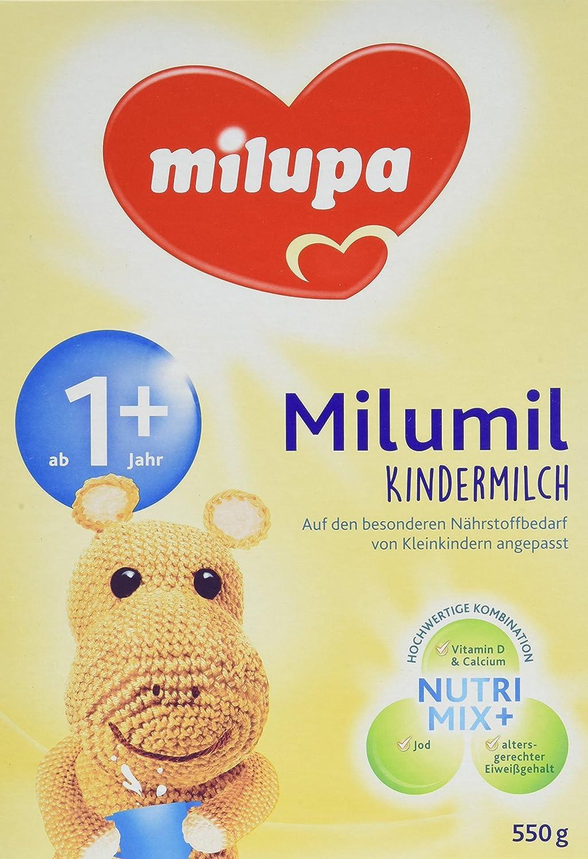 milumil Kindermilch ab 1 Jahr, 5er Pack (5 x 550 g) 603325
