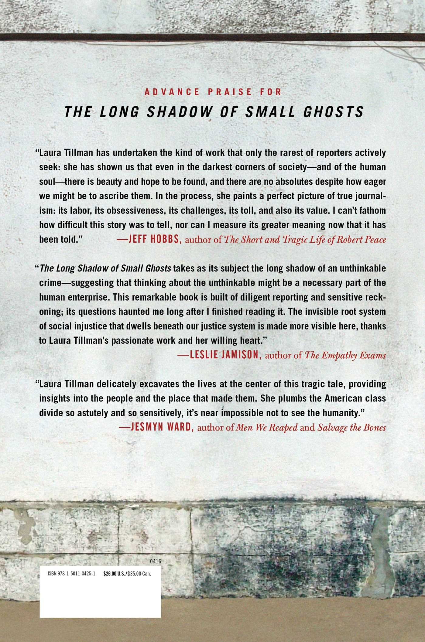 The Long Shadow Of Small Ghosts: Murder And Memory In An American City:  Laura Tillman: 9781501104251: Amazon: Books