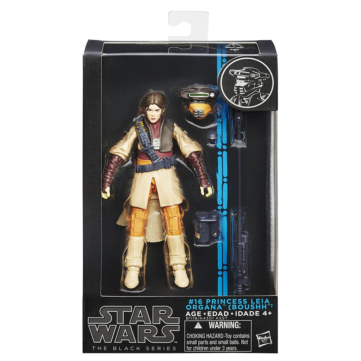 Amazon.com Star Wars The Black Series Princess Leia in Boushh 6  Action Figure Toys u0026 Games  sc 1 st  Amazon.com & Amazon.com: Star Wars The Black Series Princess Leia in Boushh 6 ...