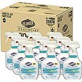 Clorox Healthcare Fuzion Cleaner Disinfectant, Spray, 32 Ounces, 9 Bottles/Case