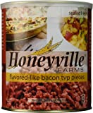 Bacon Flavored Textured Vegetable Protein TVP - 2 Pound Can
