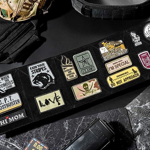 OneTigris – Parche táctico militar, placa de velcro, paquete múltiple (diseño multifunción): Amazon.es: Hogar