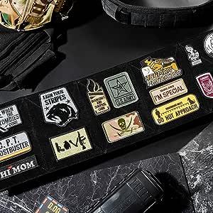 OneTigris – Parche táctico militar, placa de velcro, paquete ...