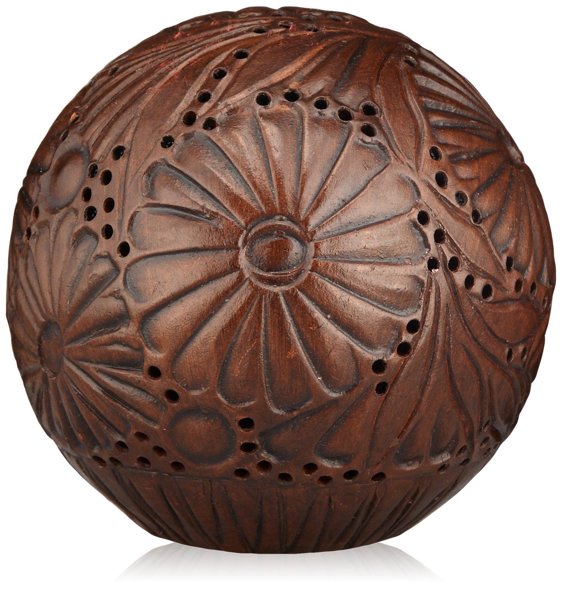 Handmade Terracotta Amber Ball by L'Artisan Parfumeur Home Fragrance (Diameter: 85mm (3.35 inches) Fill: 50g)