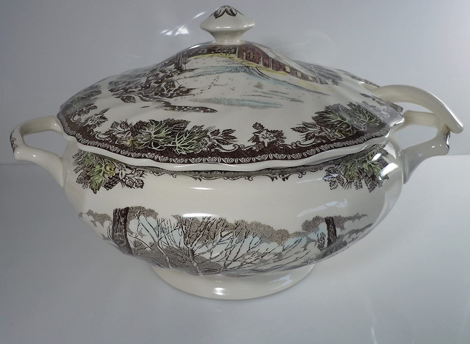 Johnson Brothers The Friendly Village Soup Tureen England 1883
