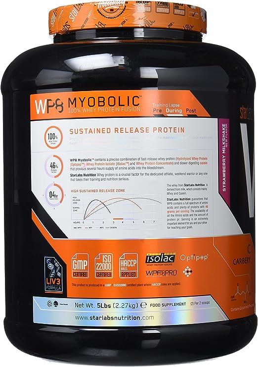 StarLabs Nutrition - WP8 Myobolic 2.0 - Proteína funcional multi-fuente - 2270 g
