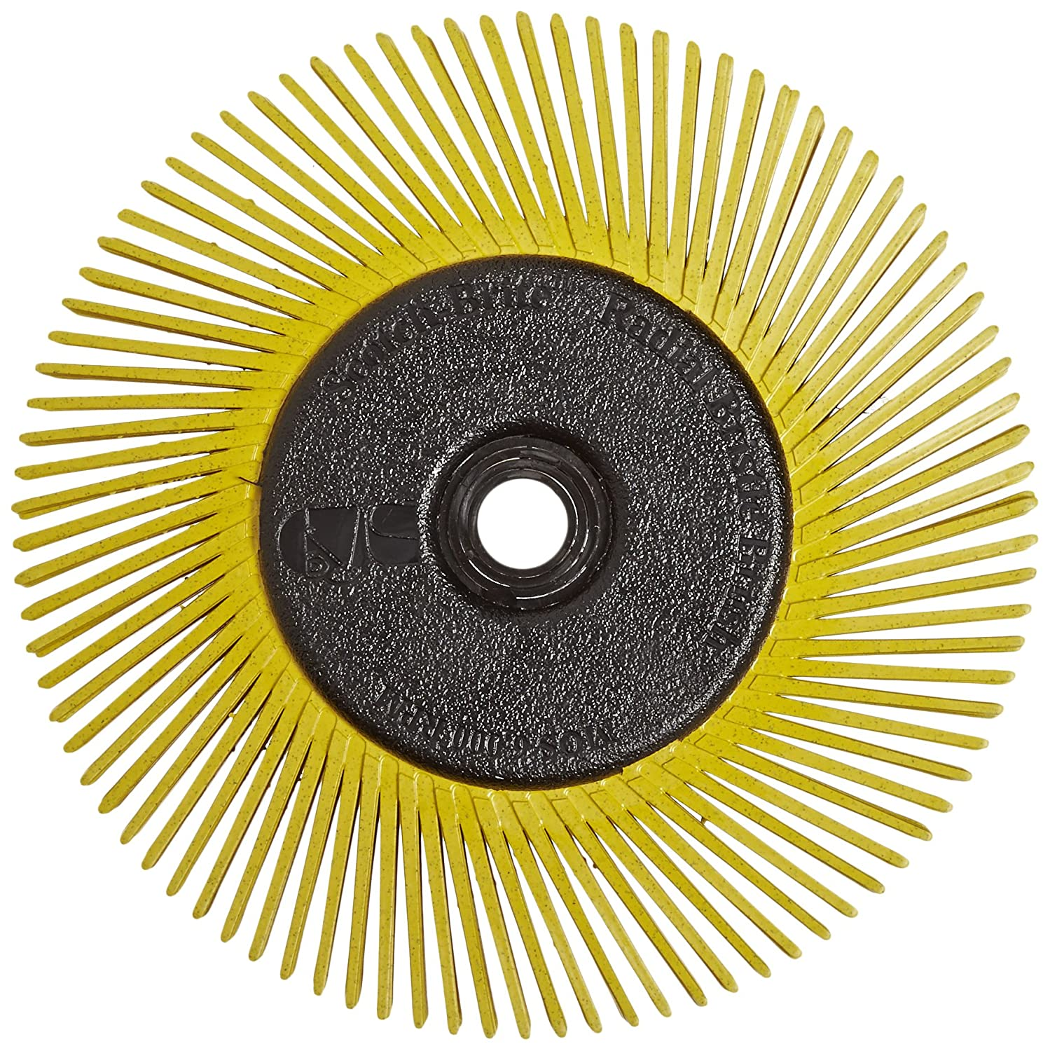 Radial Bristle Brush 150x12mm P80 gelb TypC 3M BB-ZB