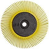 Scotch-Brite Radial Bristle Brush, 6 in x 1/2 in