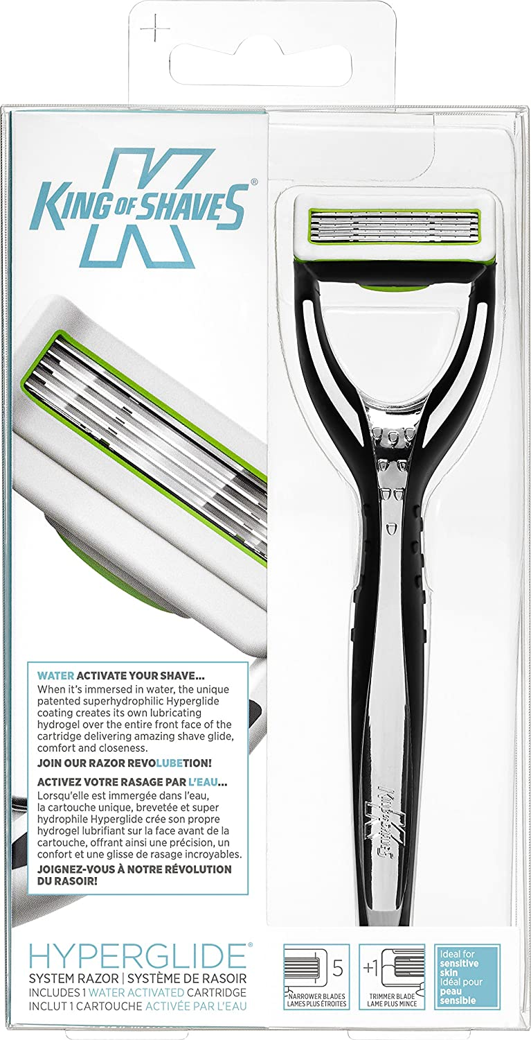King of Shaves Hyperglide System Razor 688003121689