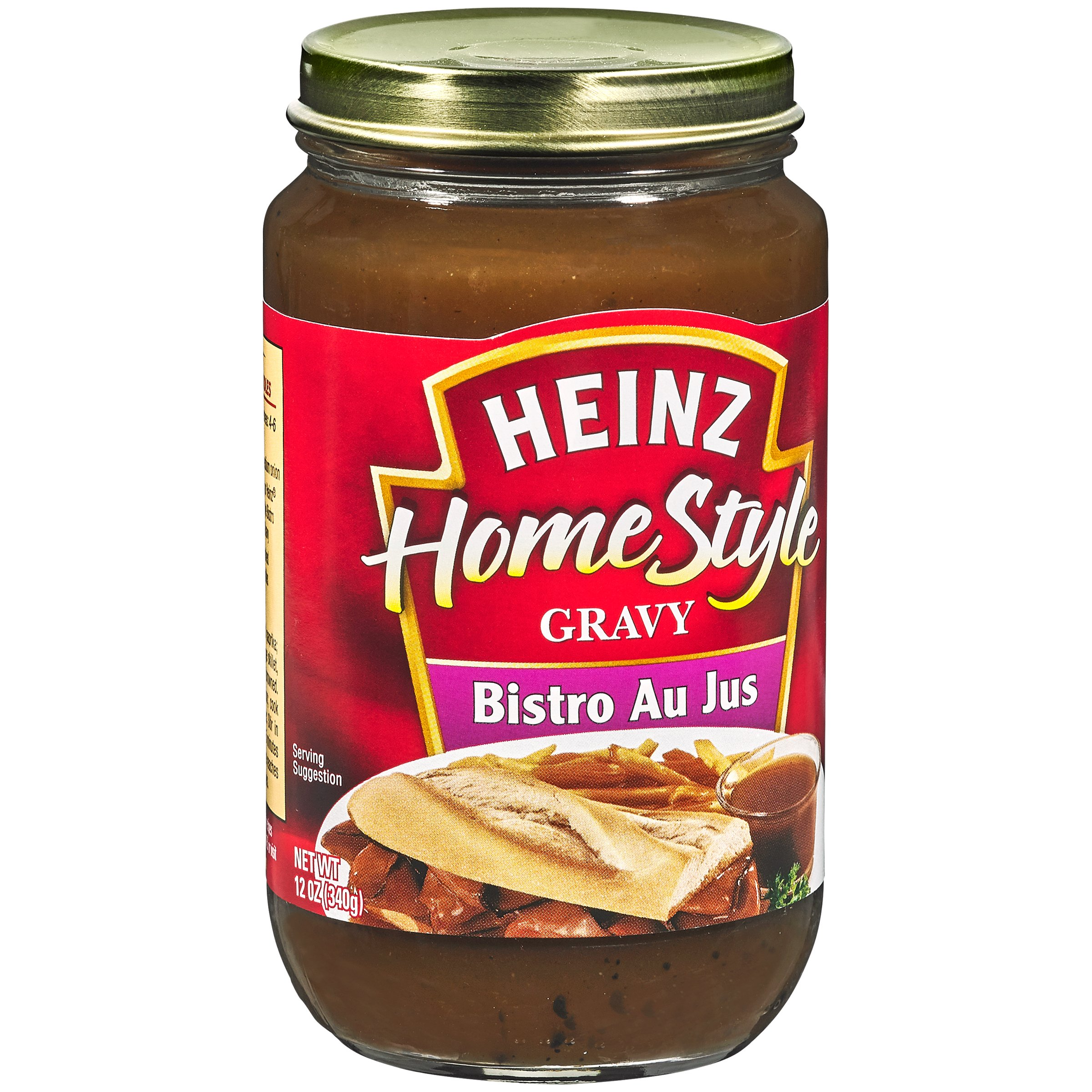 Heinz Homestyle Bistro Au Jus Gravy, 12 Ounce (Pack of 12)