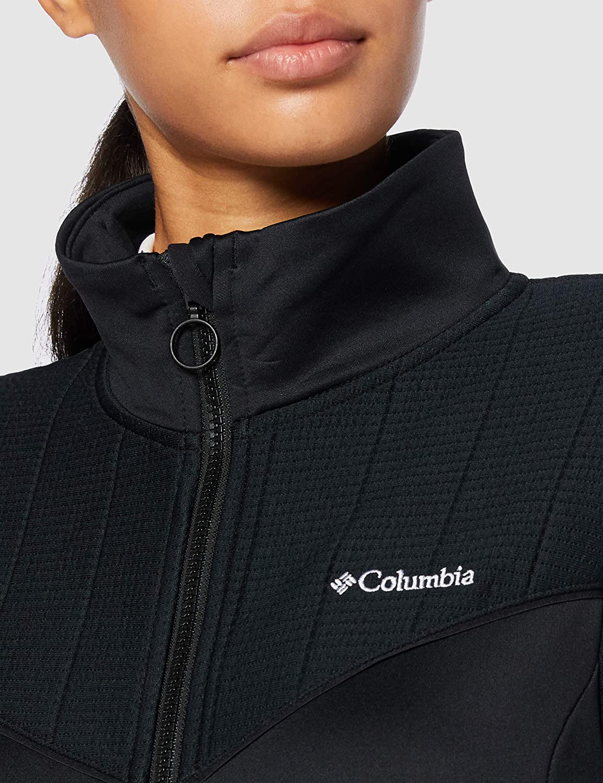 Columbia Roffe Ridge II Full Zip, Giacche (Shells) Donna Nero