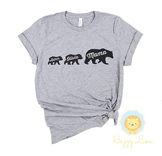 f594cba1 Amazon.com: Happy Lion Clothing - Personalized Mother's Day Gift ...