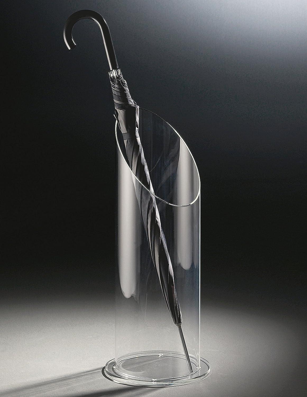 Design portaombrelli in vetro acrilico di alta qualità, transparente, Ø 20 cm, A 60 cm, spessore vetro acrilico 8 mm HOWE-Deko