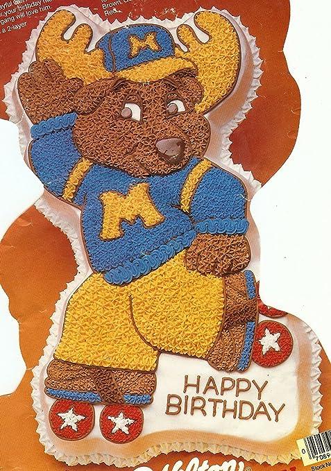 Amazon Wilton Montgomery Moose Good News Roller Skate Cake