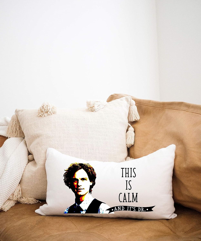 Spencer Reid Pillow Criminal Minds Gift Matthew Gray Gubler Pillow Celebrity Gifts Criminal Minds Fandom Criminal Minds Merch