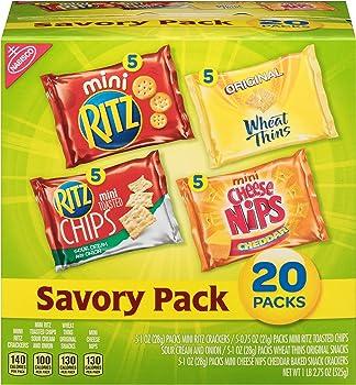 20-Pack Nabisco Savory Cracker Variety Pack