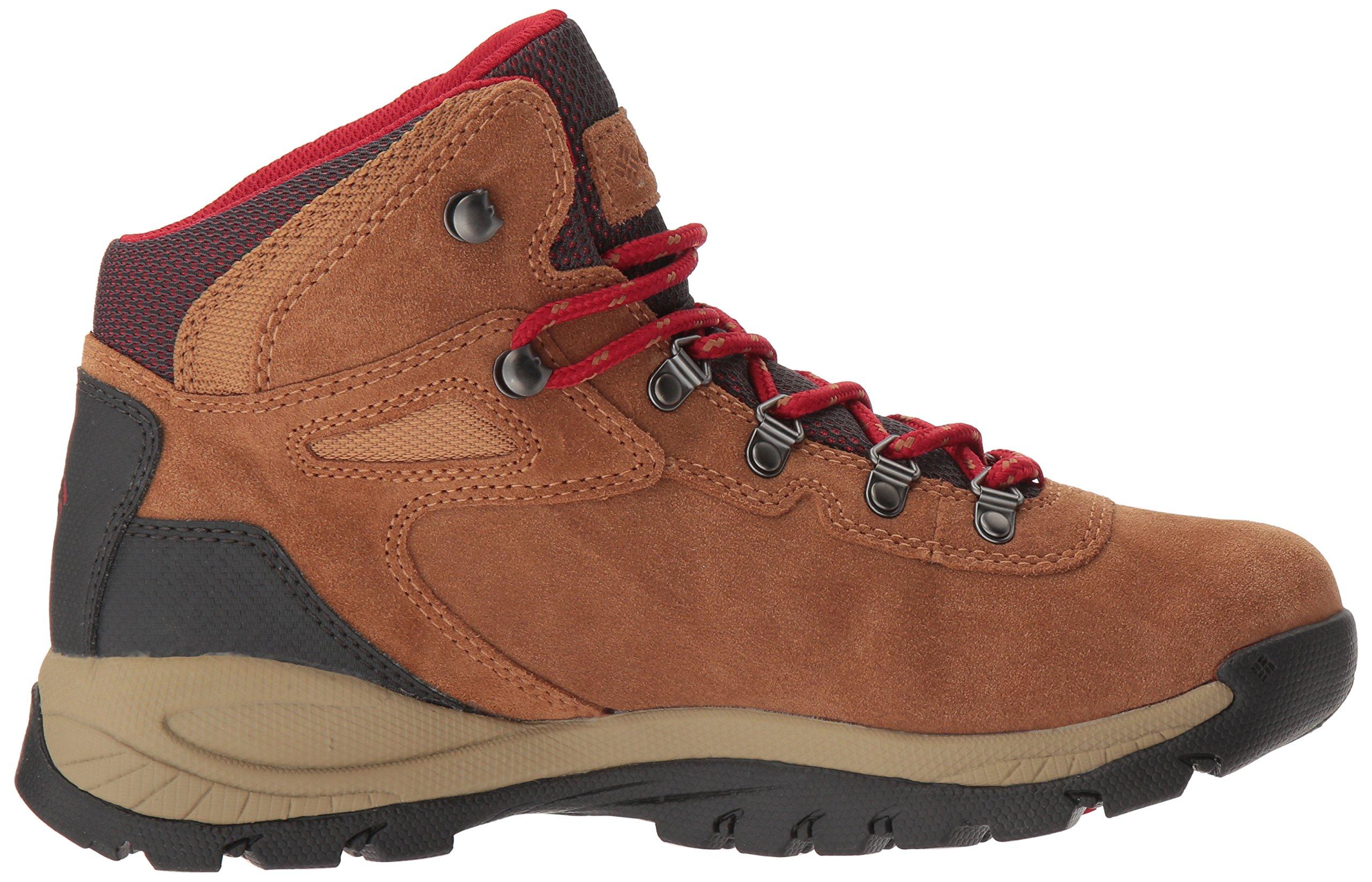 Columbia Women's Newton Ridge Plus Waterproof Amped Hiking Boot, Elk, Mountain Red, 7.5 B US by Columbia (Image #7)