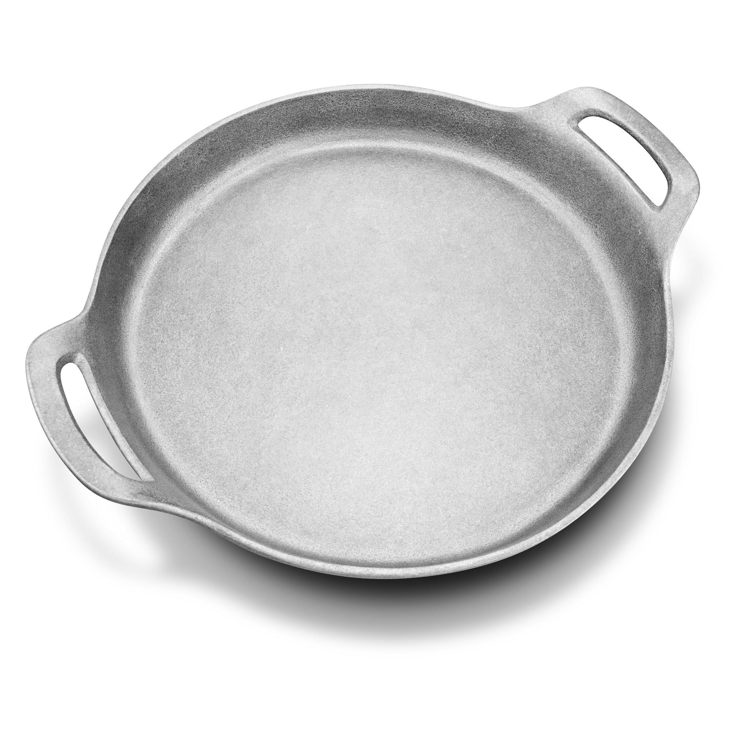 Wilton Armetale Gourmet Grillware Round Sauté Pan with Handles, 13.5-Inch