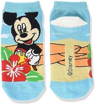 Disney calcetines calcetines de Mickey Mouse hibisco 22‡p azul ~ 24cm AWDS2574: Amazon.es: Juguetes y juegos