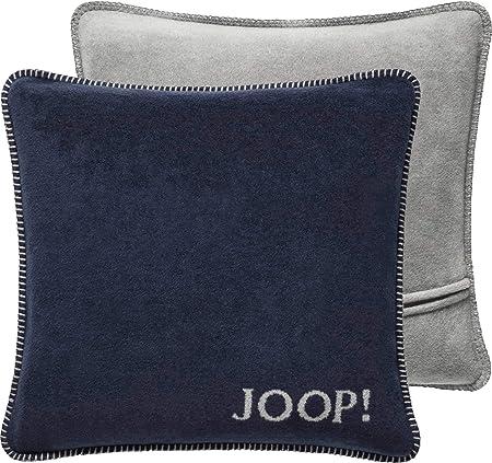 Joop! Funda de cojín, mezcla de algodón, Funda: 58% algodón, 35% poliacrílico, 7%, azul marino., 50 x 50 cm: Joop!: Amazon.es: Hogar