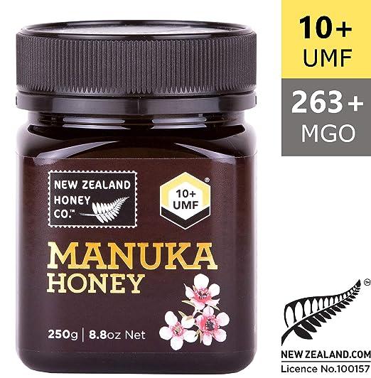 Miel salvaje de Manuka UMF 10+ by New Zealand Honey Co | 250g | Delicioso Miel salvaje de Manuka UMF 10+ de la Isla Sur de Nueva Zelanda | Nueva ...