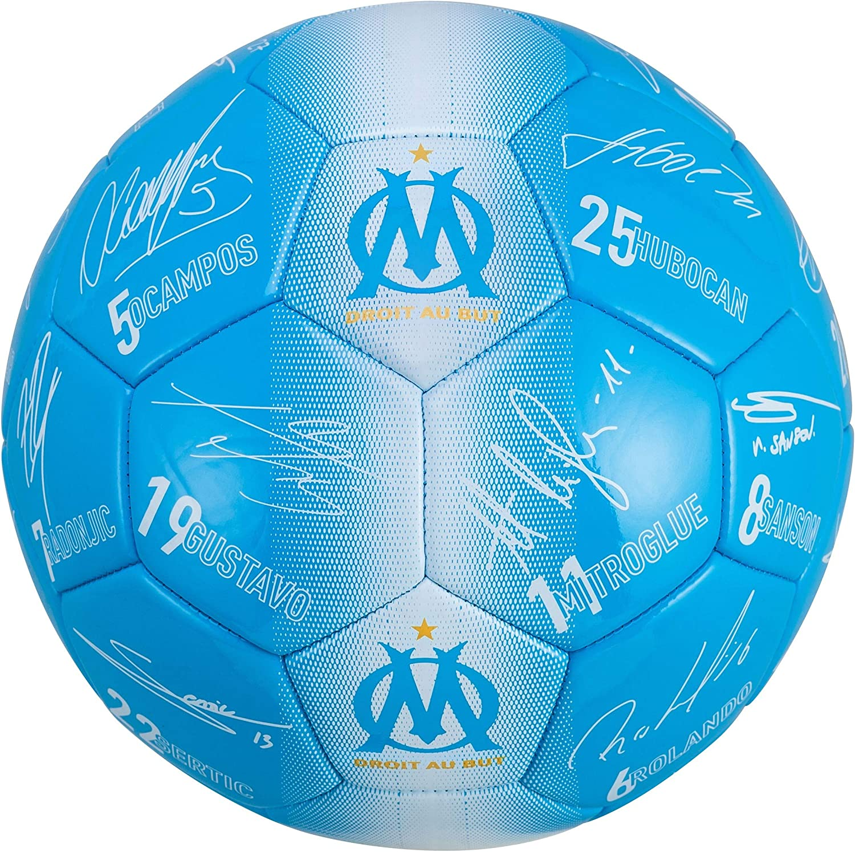 OLYMPIQUE DE MARSEILLE Ballon de Football Om Collection Officielle Taille 5
