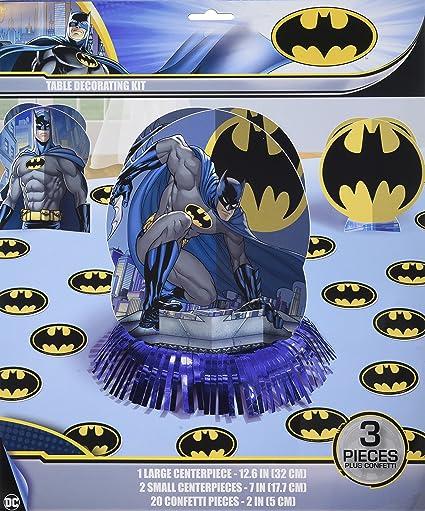 Amazon.com: Amscan impresionante Batman suministros para ...