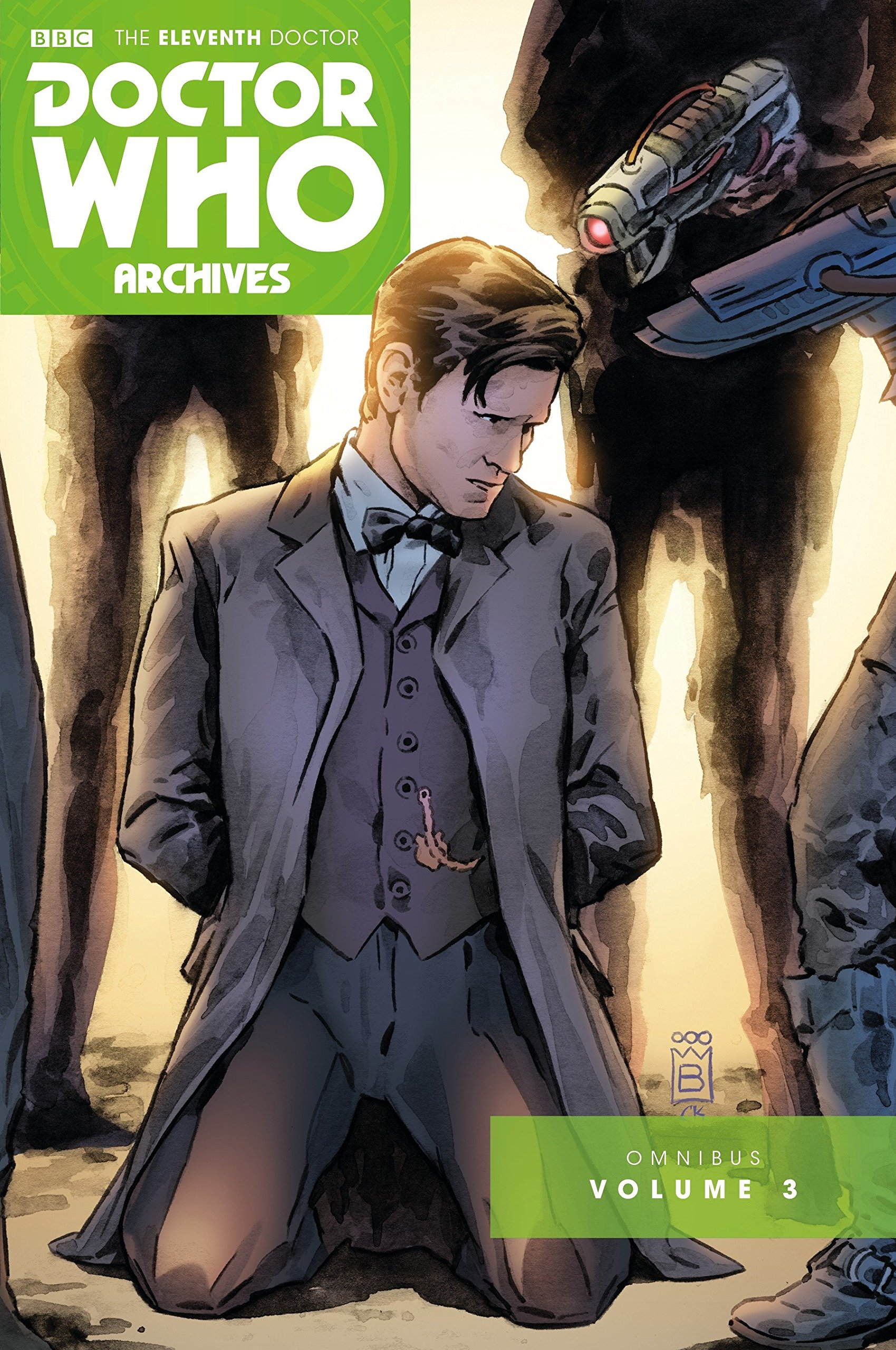 Read Online Doctor Who: The Eleventh Doctor Archives Omnibus Volume 3 PDF