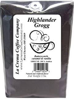 La Crema Coffee Highlander Grog, 2-Pound Package