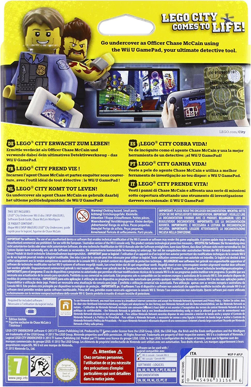 Lego City Undercover (Ltd.Edt.): Amazon.es: Videojuegos