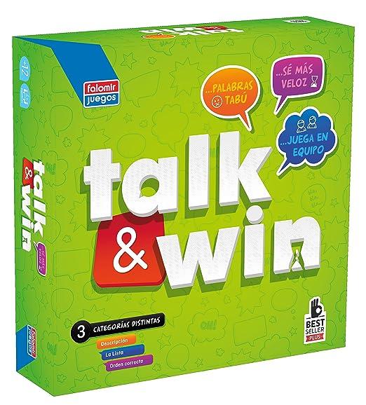 Falomir Juego Talk Win 26549 Amazon Es Juguetes Y Juegos