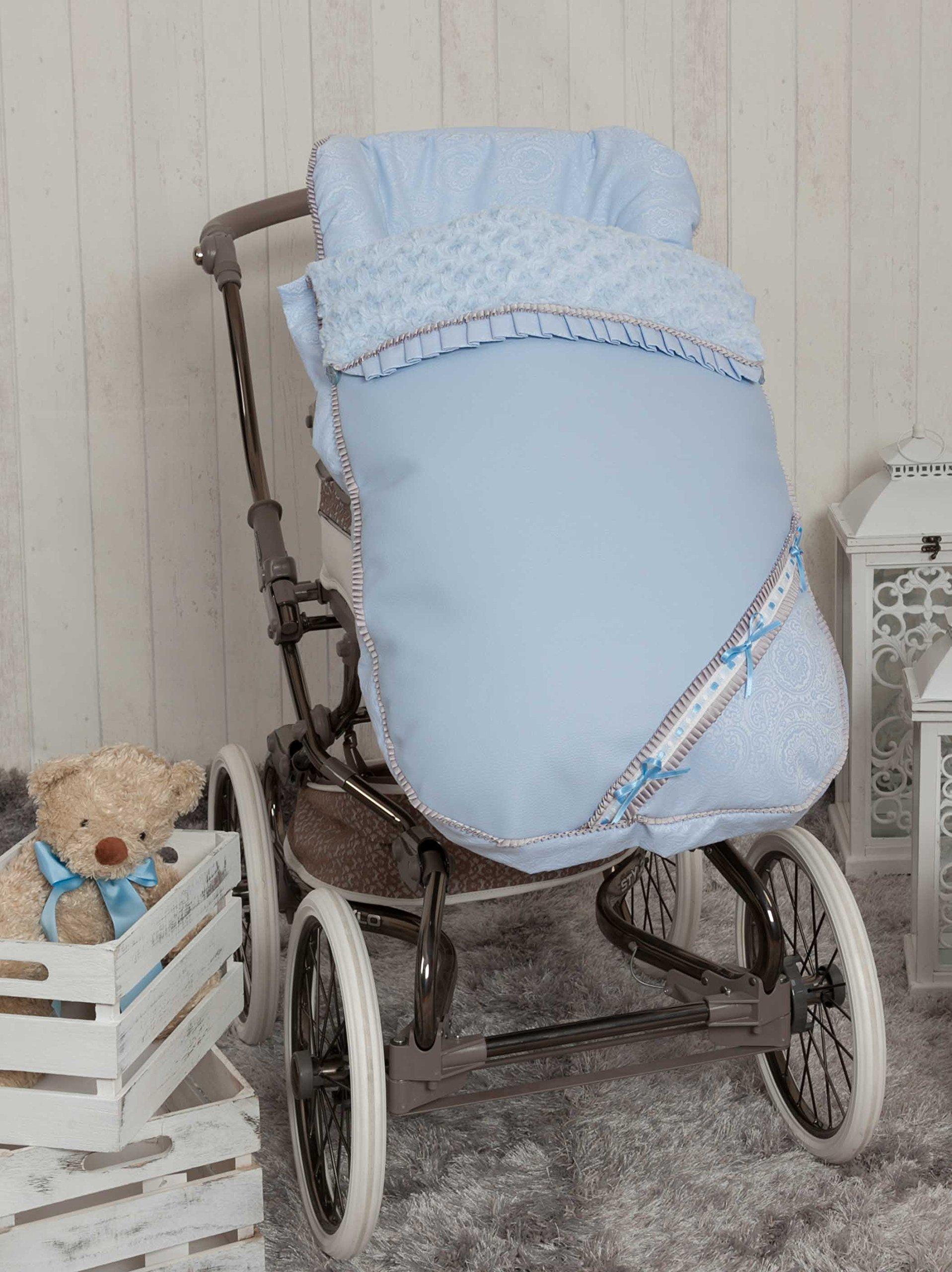 Babyline Bombón - Saco para silla de paseo, color azul product image