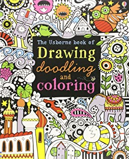 the usborne book of drawing doodling and coloring - Drawing Books For Boys