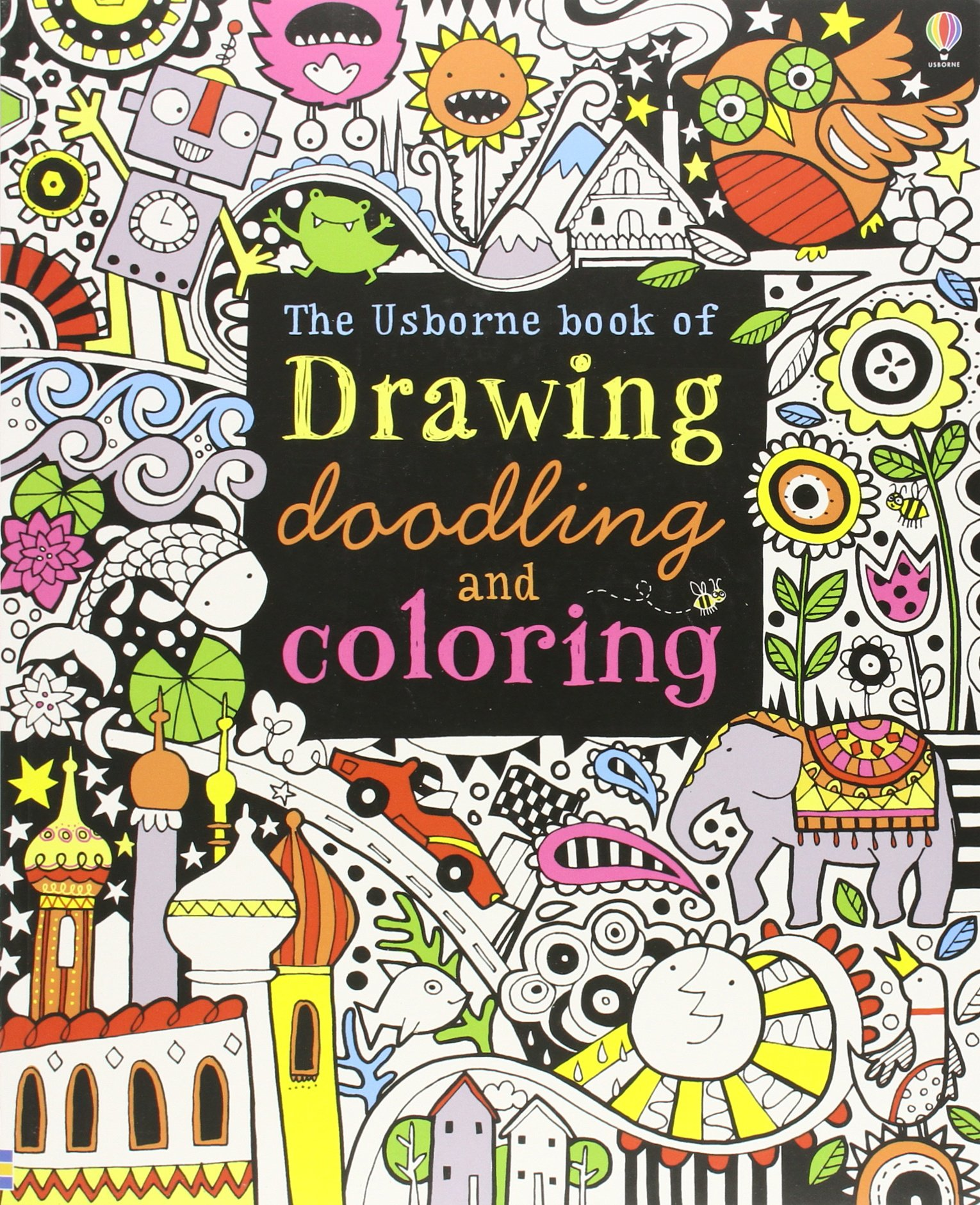 Pretty Coloring Book Wallpaper Huge Coloring Book App Solid Bulk Coloring Books Animal Coloring Book Young Animal Coloring Books OrangeBig Coloring Books The Usborne Book Of Drawing, Doodling And Coloring: Fiona Watt ..