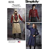 Simplicity 8235pour homme Cosplay Costume Motif, Blanc