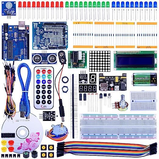 5 opinioni per Quimat Progetto Super Starter Kit per Arduino UNO R3 Mega2560 Mega328 Nano Kits