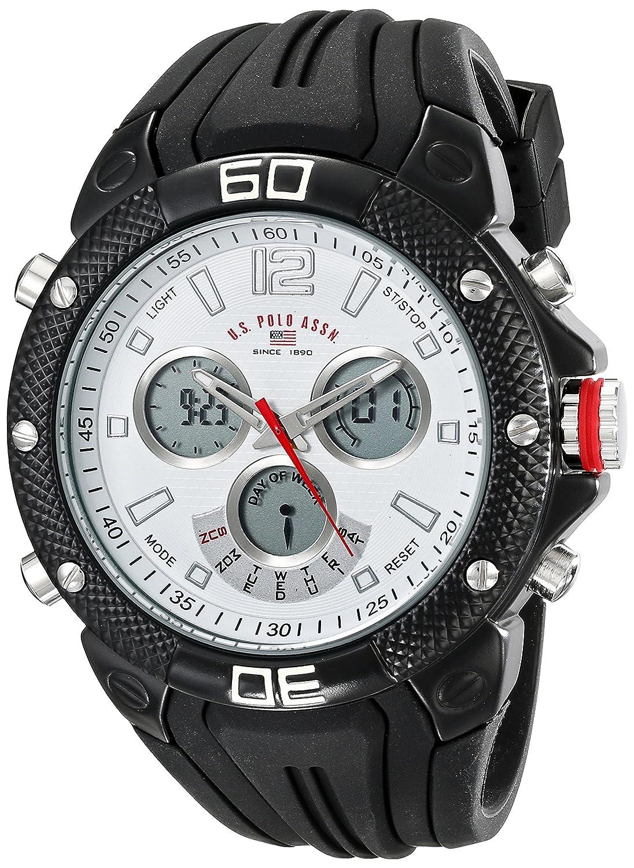 U.S.POLO ASSN. US9501 - Reloj de Pulsera Hombre, Silicona, Color ...