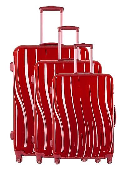 Torrente Set 3 Trolley Messa Rojo: Amazon.es: Equipaje