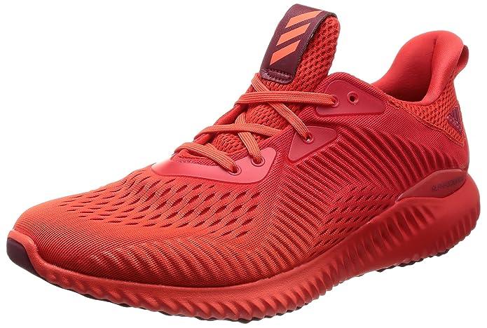 adidas Alphabounce Em M, Chaussures de Running Homme, Multicolore-Orange/Rouge (Narres/Rojbas/Buruni), 48 EU