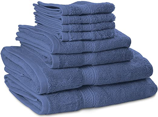 销量第一!高档棉毛巾套组,8条只要$24.99